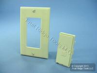 Leviton Ivory Color Change Conversion Kit for L/S Mural Dimmer Switch Color Change Conversion Kit MRK0D-LI