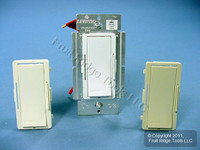 Leviton White/Ivory/Almond Vizia Light Dimmer Switch Advance Mark 10 Powerline Tu-Wire Fluorescent 1000VA 120V VZX10-1LX