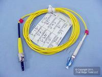 2M Leviton Fiber Optic Singlemode Simplex Patch Cable Cord ST LC PC SM PCSTL-S02