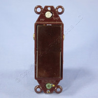 Eagle Brown RESIDENTIAL Decorator Rocker Wall Light Switch 3-Way 15A Bulk 6303B