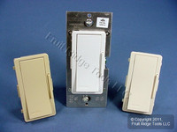 Leviton White/Ivory/Lt Almond Vizia Light Dimmer 120V Remote Switch No LED VZ00R-10Z