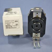 Leviton L23-20 Twist Locking Receptacle Outlet Turn Lock NEMA L23-20R 20A 347/600V 3ØY 2530-065