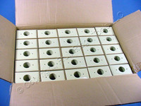 1100 GE Ivory UNBREAKABLE Receptacle Wallplates Outlet Covers w/o Mounting Screws WD9350589
