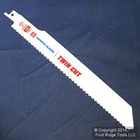 "Imperial 9"" Twin-Cut Bi-Metal Reciprocating 10/14 TPI Cutting Saw Blade IBTT9"