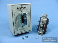 Leviton Manual Motor Starter Switch DPST Double Pole Single Throw w/Lockout 30A N1302