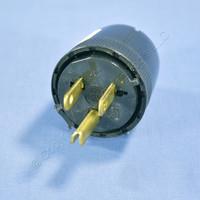 Pass & Seymour Black COMMERCIAL Straight Blade Plug 15A 125V NEMA 5-15P 5276-BK