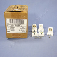 5 Leviton Fluorescent Lamp Holders T-8 T-12 Light Socket G13 Base 660W 13351-N