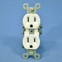 Pass & Seymour White Receptacle Outlet 15A Trademaster 3232-WTU
