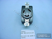 Hubbell Bryant L11-30 Turn Locking Receptacle Twist Lock Outlet NEMA L11-30R 30A 250V 3Ø 71130FR