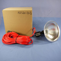 Heavy Duty Utility Ceramic Magnetic-Based Incandescent Job Site Flood Spot Light with 50' Cord Cord MLC-200-50-C3