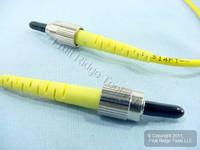 5M Leviton Fiber Optic Singlemode Simplex Patch Cable Cord FC FC PC SM PCSFC-S05