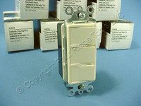 10 Cooper Almond Combination Decorator Triple Rocker Switch Controls 3283A-SP-L