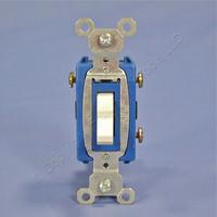 Pass & Seymour Light Almond COMMERCIAL Toggle Light Switch 3-Way 15A CS15AC3-LA