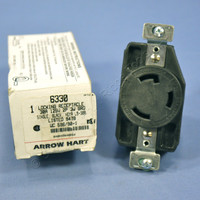 Arrow Hart L5-30 Locking Receptacle Twist Turn Lock Outlet NEMA L5-30R 30A 125V 6330