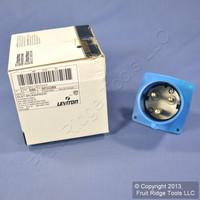 Leviton Pin & Sleeve Plug Splashproof Inlet 32A 250VAC SP332B6