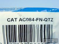 Leviton Acenti Quartz Quickport F-Type Coaxial Cable Jack 75-Ohm AC084-FN-QTZ