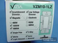 Leviton White Ivory Lt Alm Vizia 1000W/VA Dimmer Switch
