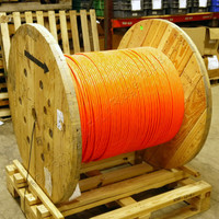 1860ft AFL Single-Unit 24-Fiber Plenum MM CPC Circular Premise Fiber Optic Cable