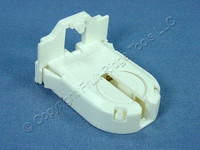 Leviton T-8 T-12 Fluorescent Light Socket Lamp Holder Medium Profile Shunted Locator Pin Medium Bi-Pin G13 23661-SWP