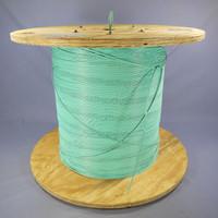 6404 Feet AFL Aqua Zipcord 2-Fiber 10G 300m 2.0mm 900µm Plenum Fiber Optic Cable