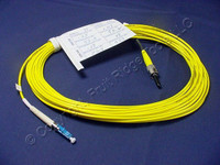 10M Leviton Fiber Optic Singlemode Simplex Patch Cable Cord ST LC SPC SPSTL-S10