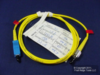 1M Fiber Optic Single-Mode Simplex Patch Cable Cord SM ST FC PC Polish PCSCF-S01