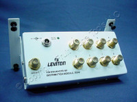 Leviton 1x8 Enhanced Video Distribution 2GHz RF Amplifier Module Splitter 47692-GSM