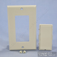Leviton Gray Color Conversion Kit For 1-Address ON/OFF Controller DRK0S-LG