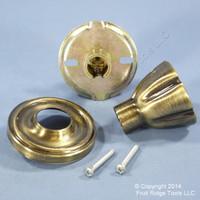 Weslock Traditonale Eleganti Model 605 Golden Brass Dummy Hall Closet Door Knob