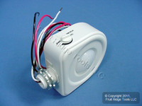 Leviton White High Bay Fixture Mount 360° Occupancy Sensor OSFHB-ITW