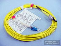 5M Leviton Fiber Optic Singlemode Simplex Patch Cable Cord FC LC PC SM PCSFL-S05