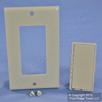 New Leviton Gray Color Change Kit for Mural Mosaic DHC Dimmer Switch DRKDD-1LG