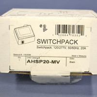 Cooper Heavy Duty Occupancy Motion Sensor Switchpack Power Pack Supply HVAC Relay 50/60Hz 120/277V 15 VDC AHSP20-MV