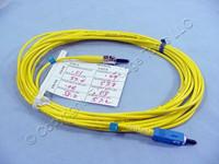 5M Leviton Fiber Optic Single-Mode Simplex Patch Cable Cord ST SC UPC UPSCT-S05