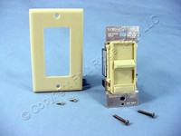 Leviton Decora Slide Light Dimmer Switch Low Voltage Ivory 600VA 450W 6611-PI