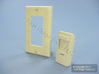 Leviton Ivory Color Change Conversion Kit for Illumatech Dimmer Switch INKIT-I