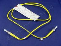 1M Leviton Fiber Optic Singlemode Simplex Patch Cable Cord SM ST SPC SPSST-S01