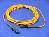 3M Leviton Fiber Optic Patch Cable Cord MT-RJ 62.5 Micron MT-RJ Duplex Multimode 62DMJ-M03