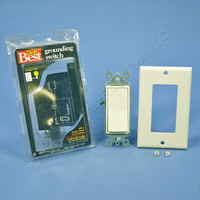 Do It Best Almond Decora Rocker Wall Light Switch Single Pole ON/OFF 15A 552410
