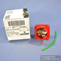 Leviton INDUSTRIAL Pin & Sleeve Splashproof Plug Inlet 30A 480VAC 3Ø SP430B7