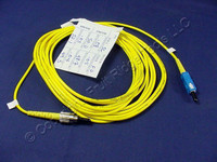 5M Leviton Fiber Optic Singlemode Simplex Patch Cable Cord SC FC SPCSPSCF-S05