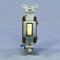 Eagle Almond COMMERCIAL Single Pole Quiet Toggle Light Switch 15A Bulk CS115A