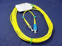 5M Leviton Fiber Optic Single-Mode Simplex Patch Cable Cord SC FC UPC UPSCF-S05