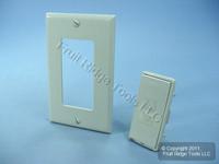 Leviton Gray Color Change Conversion Kit for L/S Mural Dimmer Switch MRK0D-LG