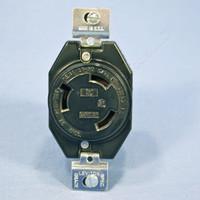 Leviton L8-30 Turn Locking Receptacle Outlet Twist Lock NEMA L8-30R 30A 480V 70830-FR Bulk