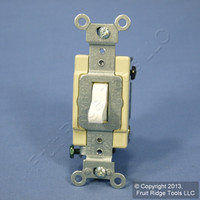 Leviton White COMMERCIAL 4-Way Toggle Wall Light Switch 20A CSB4-2W