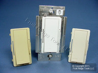 Leviton White/Ivory/Light Almond Vizia Light Dimmer Switch Hi-Lume Eco-10 Fluorescent 8A 120V VZH08-1LZ