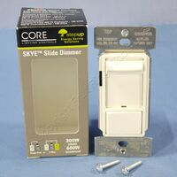 Cooper Skye Light Almond LED/CFL 600W Inc/Halogen Slide Dimmer Switch SLC03P-LA