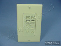 Leviton Ivory Face Plate Color Change Kit For Decora 6-Scene Controller DCK6S-I