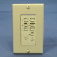 Leviton Almond Face Plate Color Change Kit For Decora 6-Scene Controller DCK6S-A